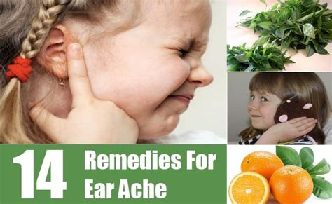 14 home remedies for ear ache treatments cure