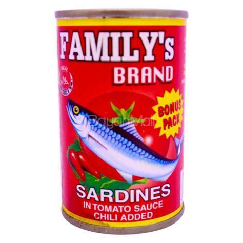 Pronas Sardines Tomato Sauce 155g familys brand sardines tomato sauce chili 155g