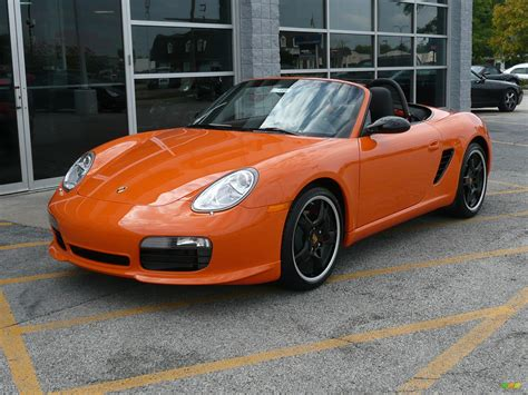 porsche orange 2008 orange porsche boxster s limited edition 39380