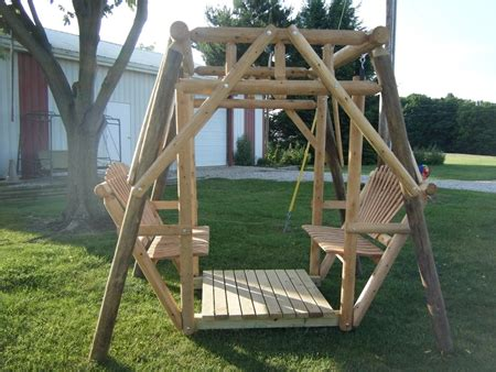 amish swing amish built outdoor furniture buy swings gliders picnic