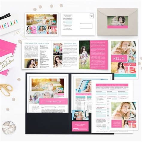 marketing packet template 17 best images about senior marketing templates