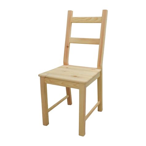 Ivar Chair by 51 Ingo Pine Table With Ivar Pine Chairs