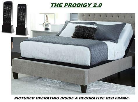leggett platt prodigy  splitdual king adjustable bed