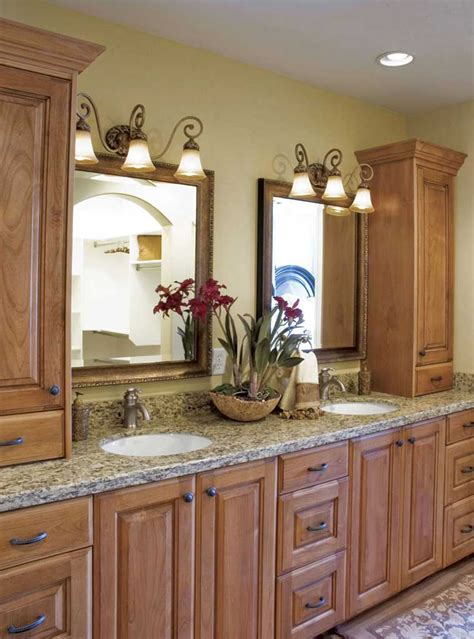 Cherry Bathroom Storage Cabinet Cherry Bathroom Cabinets Cabinet Wholesalers Kitchen Cabinets Refacing And Remodeling