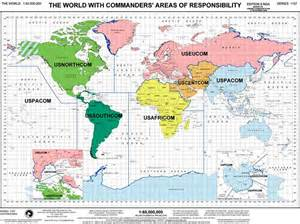 cocom threat assessments aor map