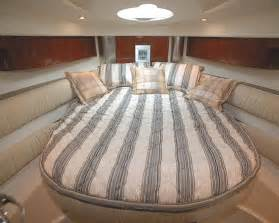 the interior is small and cozy boat decoration trend