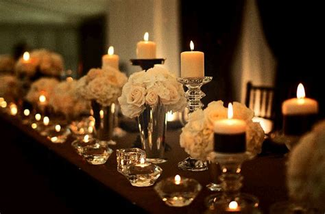 wedding reception decorations with candles wedding venue decor decoration