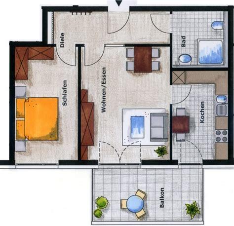 2 Zimmer Wohnung Einrichten by 35 Qm Wohnung Einrichten Raum Und M 246 Beldesign Inspiration