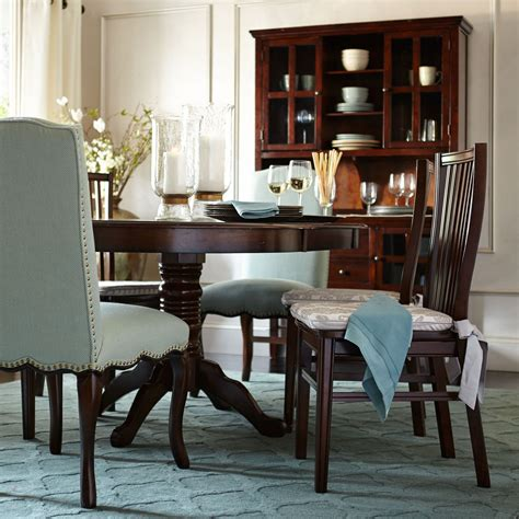 pier one table ronan extension table tobacco brown pier 1 imports