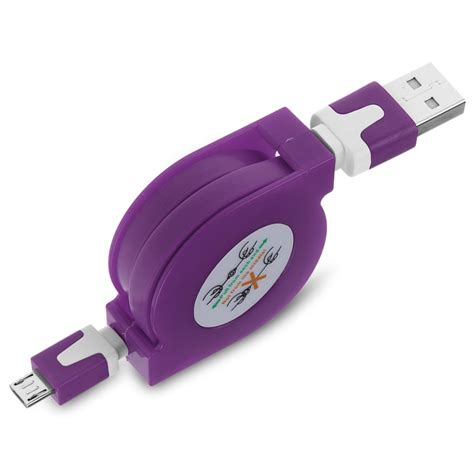 Usb Charger Android retractable micro usb charger sync data cable cord for android phone samsung htc ebay