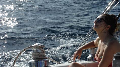 on a boat sailing sailing singles