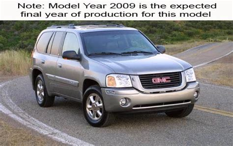 maintenance schedule for 2009 gmc envoy openbay