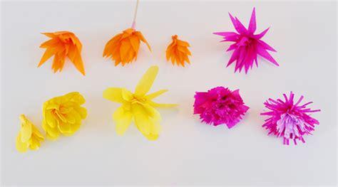 seda jesi flores de papel de seda barquito chiquitito
