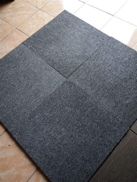 Karpet Lantai Mobil Per Meter jual karpet lantai murah model kotak di lapak omah karpet