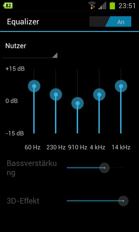 best equalizer settings for android can t change the 3d effect and bass at the android the spotify community