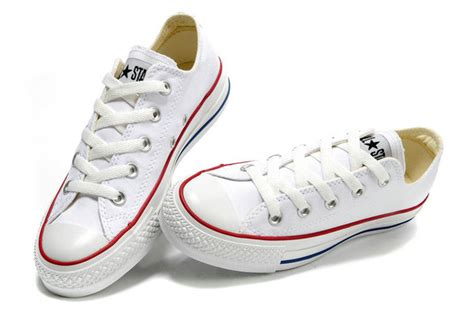 Sepatu Converse All Clasic Size 37 43 classic converse chuck all low top optical white canvas sneakers 101000 52 00