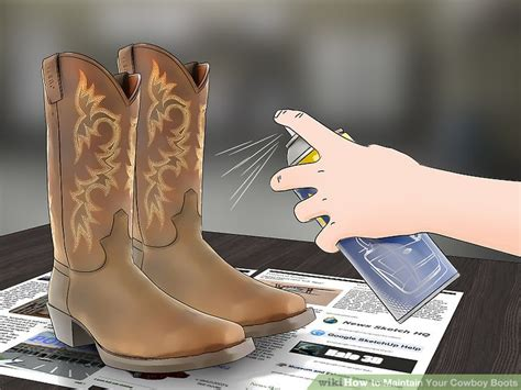 how to clean cowboy boots 4 ways to maintain your cowboy boots wikihow