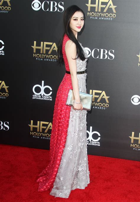Hollywood Film Awards Fug or Fab: Jing Tian in Christian Dior   Go Fug Yourself