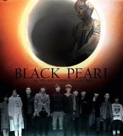 exo black pearl exo black pearl one shot collection poster by alexandra