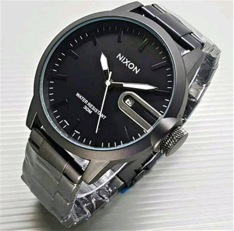 jual jam tangan pria nixon  lapak jam tangan aiysah solehim