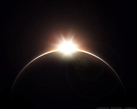 eclipse theme black background brilliant rising sun over planet background welovesolo