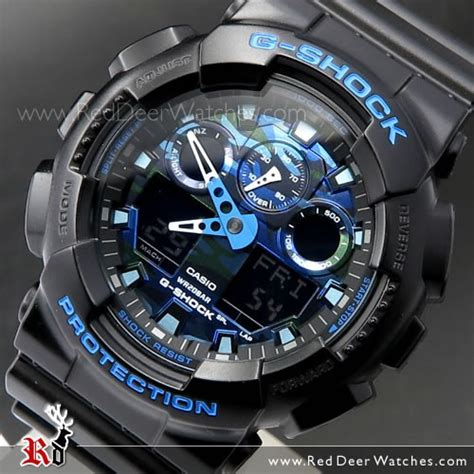 Gshock W01s Black L Blue buy casio g shock matte black with blue limited sport