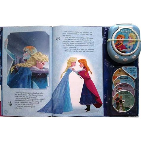 Disney Frozen Player Storybook With 20 Tunes Including Disney Frozen Player Storybook With 20 Tunes