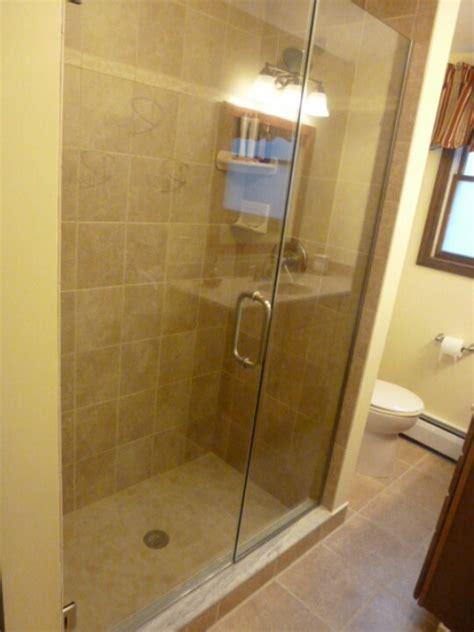 In Line Frameless Shower Door Panel Frameless Shower Line Shower Door