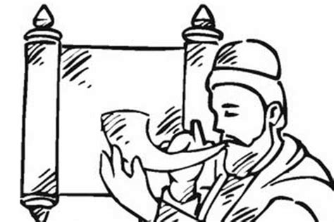 Great High Holy Days Yom Kippur Coloring Pages For Kids Yom Kippur Coloring Pages