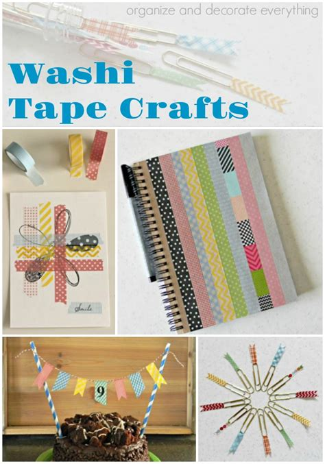 washi tape crafts quick and easy washi tape crafts organize and decorate