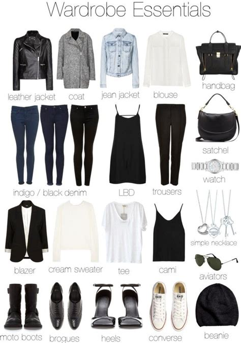 Minimalist Closet List by 25 Best Ideas About Wardrobe Basics On Basic