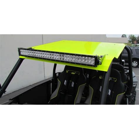 Led Light Bar For Polaris Rzr Utv Kingz Polaris Rzr 4 Xp1000 900 Xp 4 Turbo Aluminum Roof With 30 Led Light Bar