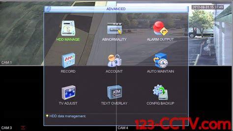 format hard disk dvr format hard drive on your 123cctv dvr doovi