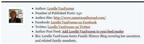 biography authors list author bio list form 171 lorelle on wordpress