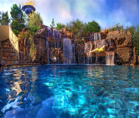 Custom inground pools, inexpensive retaining wall options