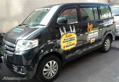 Tv Utk Mobil mobil suzuki apv untuk dipakai mudik gratis dari suzuki indonesia dan sindo tv