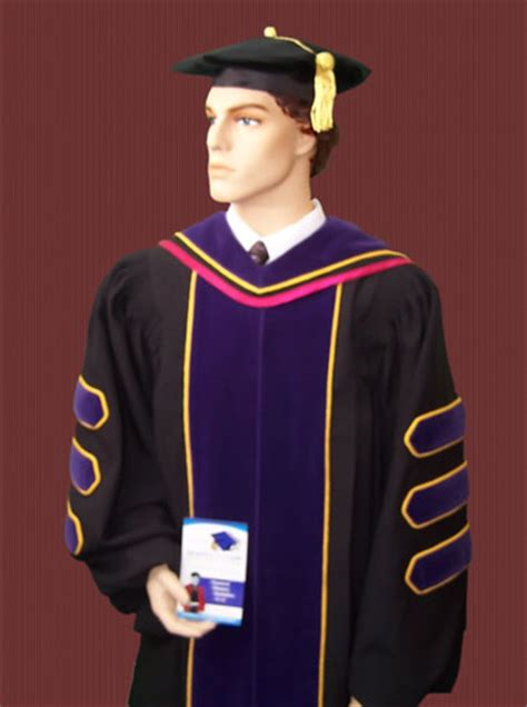 Chaminade Mba Cap And Gown Colors by Doctoralregalia Phd Gowns And Academic Hoods