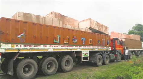 ram temples in india stones from rajasthan arrive for ram temple in ayodhya
