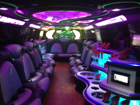 Inside A Limo by Afg Luxor Limousine Limousine Service