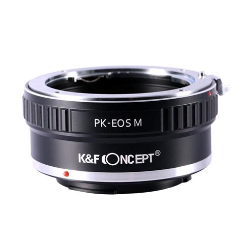 Goods Canon Mount Adapter Ef Eos M Brand New pentax pk to canon eos m mount adapter k f concept