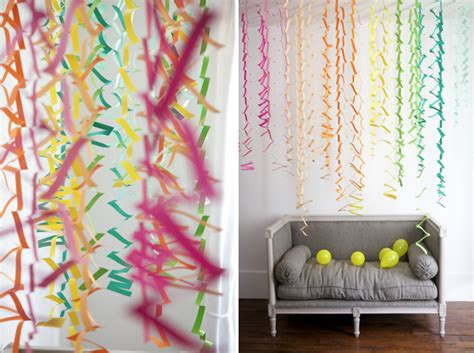 simple diy party decor easy zig zag accordion streamers old a little design everyday graduation party plan