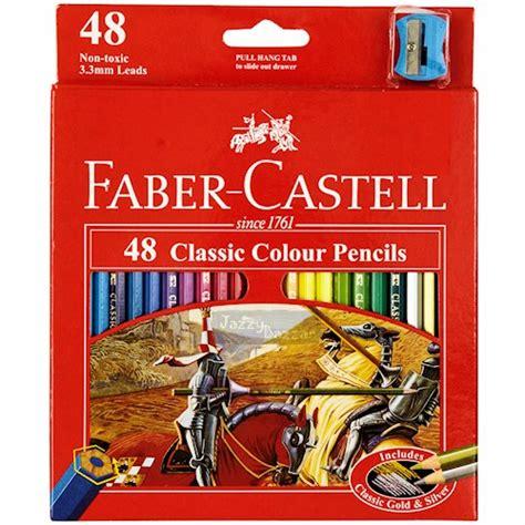 Pensil Warna Faber Castell 48 Classic Colour 48 faber castell classic colour pencil colouring coloured eco pencils bulk ebay