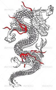 Coloring pages dragon tattoo designs and machine embroidery designs