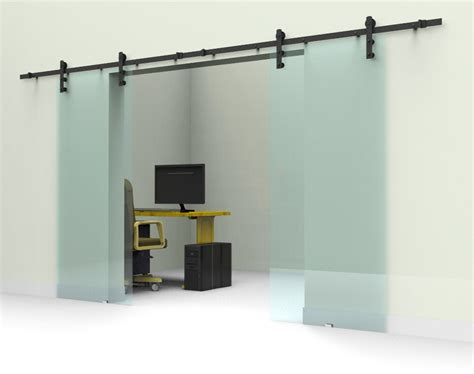 Aliexpress Com Buy 10ft 12ft Black Rustic Double Sliding Barn Door Sliding Door Track
