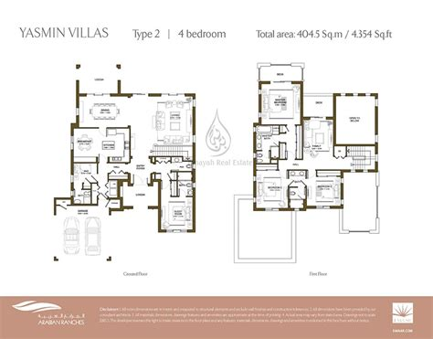 2 bedroom villa floor plans villas for sale rent in arabian ranches dubai binayah