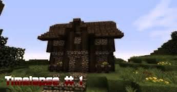 kleines minecraft haus minecraft timelapse 1 kleines mittelalterliches haus hd