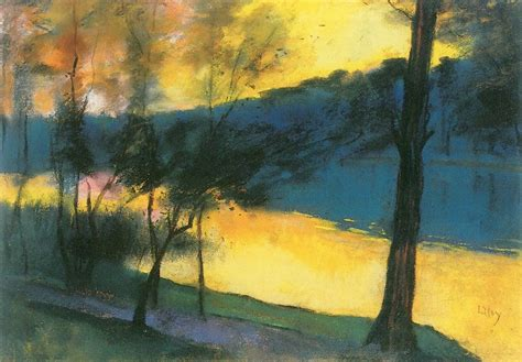 R S Painting by Lesser Ury Impressionist Painter Tutt Pittura