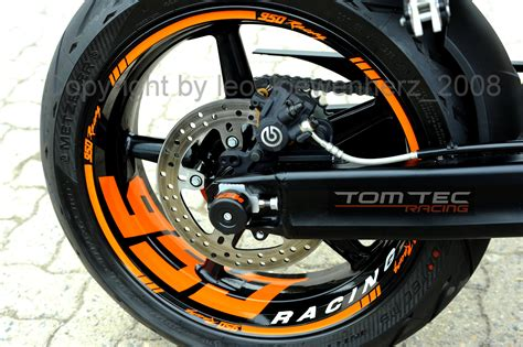 Ktm 990 Sm Aufkleber by Wheel Sticker Supermoto Ktm Superduke Sd Duke 950 990 Smt