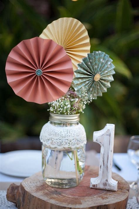 bridal shower centerpiece different colors mrs french