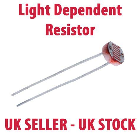 photoresistor uk light dependent resistors ldr photoresistor pic avr raspberry pi pack1 3 5 10 ebay